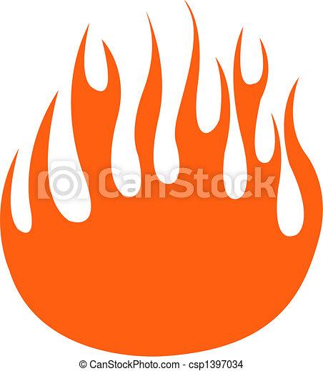 炎, 芸術, クリップ - csp1397034
