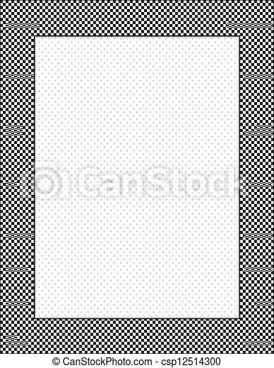 点, ポルカ, 点検, 背景, フレーム - csp12514300