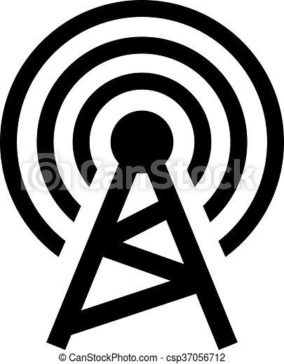 無線, タワー - csp37056712