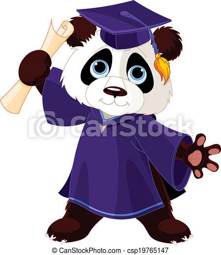 熊貓, 畢業 - csp19765147