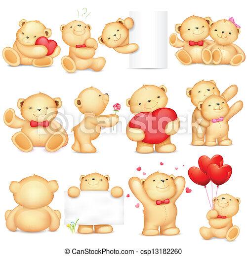 熊, テディ - csp13182260
