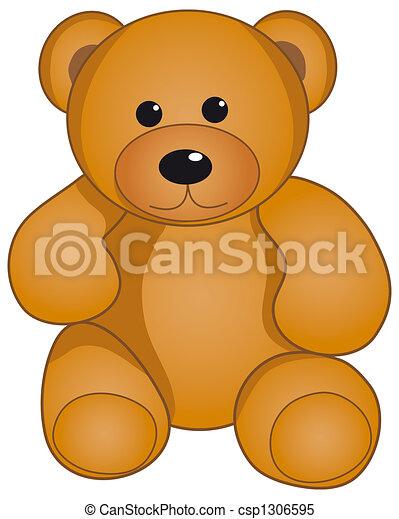 熊, テディ - csp1306595