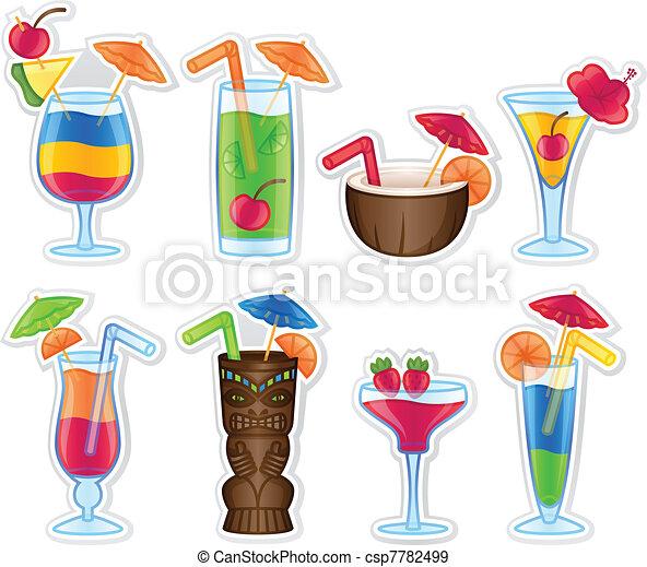 熱帯の飲み物 - csp7782499