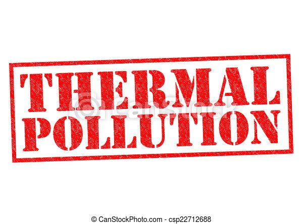熱, 污染 - csp22712688