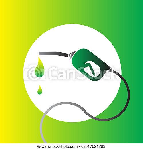 燃料, bio, シンボル, ベクトル - csp17021293