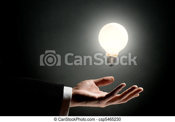 燈泡, 照明 - csp5465230