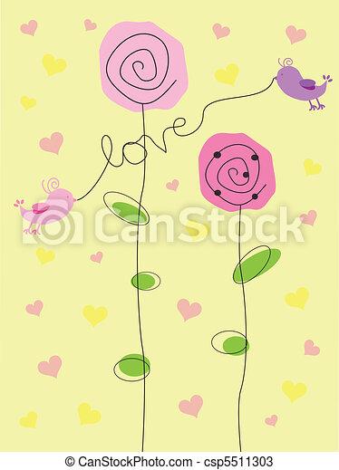 爱, valentine - csp5511303