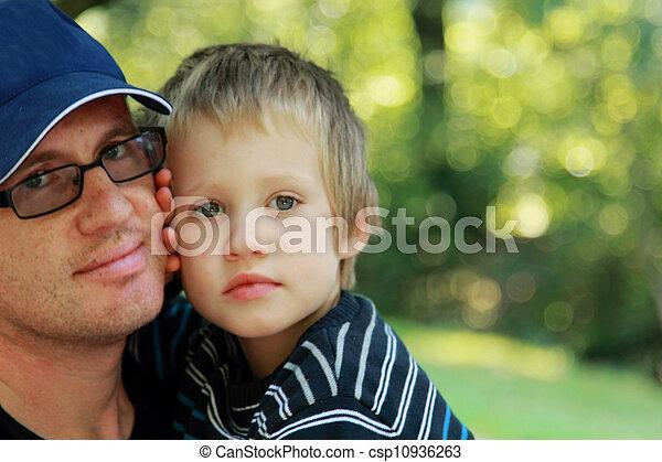 父, 息子 - csp10936263
