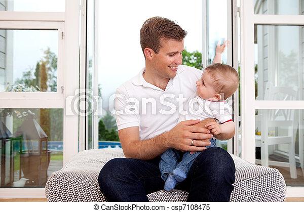 父, 息子 - csp7108475