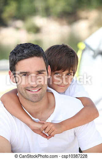 父, 息子 - csp10387228