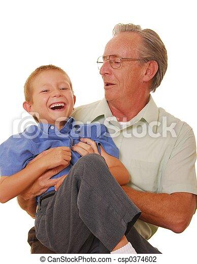 &, 父, 10, 息子 - csp0374602
