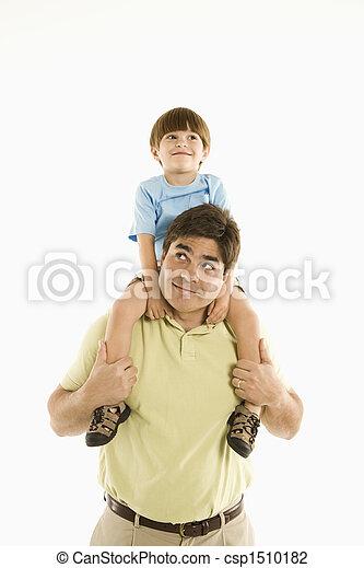 父, son. - csp1510182