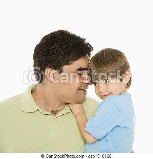 父, son. - csp1510168