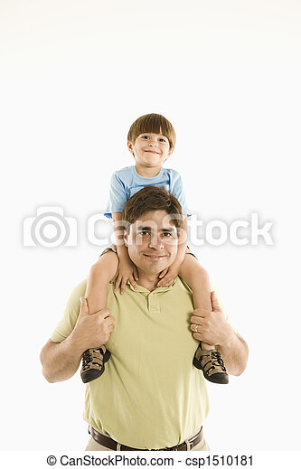 父, son. - csp1510181