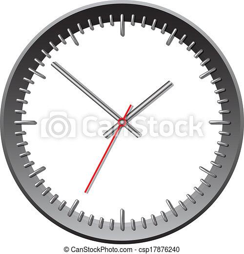 牆, clock., 机械 - csp17876240