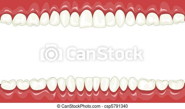 牙齒 - csp5791340