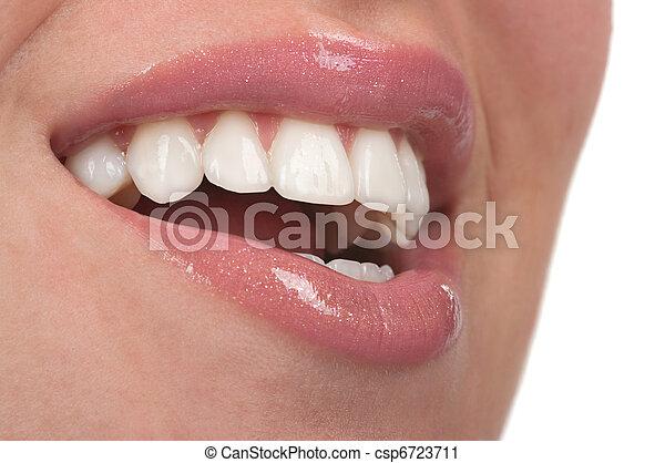 牙齒 - csp6723711