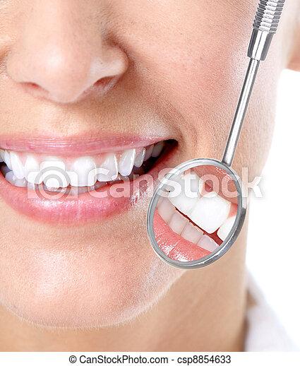 牙齒 - csp8854633
