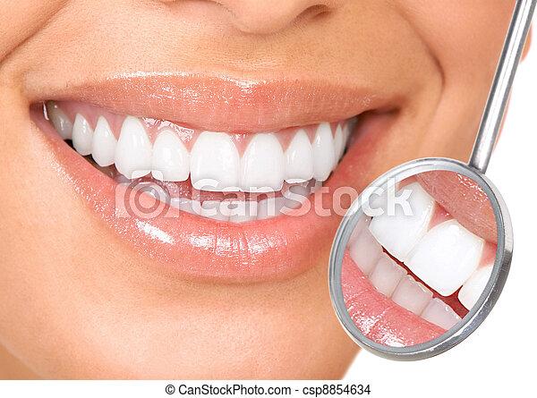 牙齒 - csp8854634