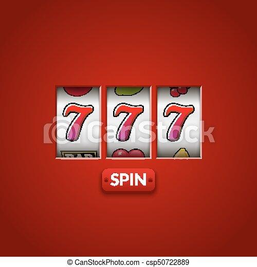 狭缝, jackpot, 777, machine., 财富, 钱, 娱乐场, 七, 幸运, vegas, chance., game., 赌博, 取得胜利 - csp50722889