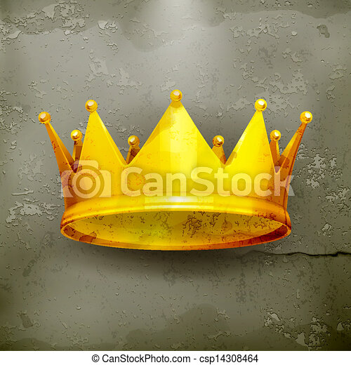 王冠, ベクトル, old-style - csp14308464