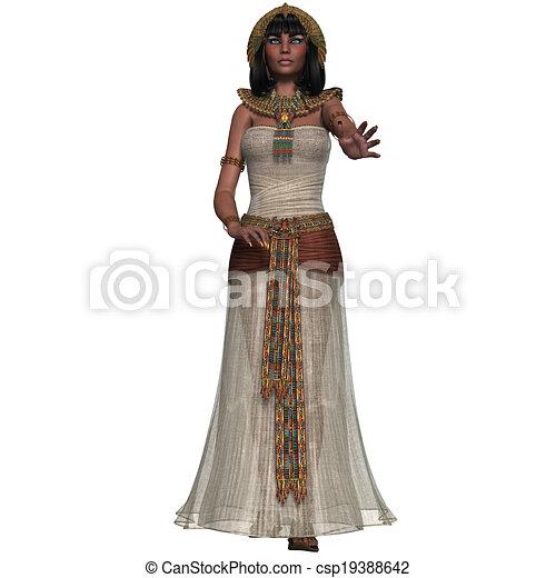 王女, エジプト人 - csp19388642