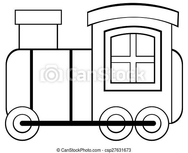 玩具火車 - csp27631673
