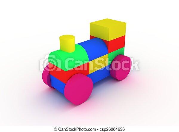 玩具火車 - csp26084636