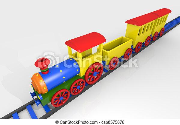 玩具火車 - csp8575676