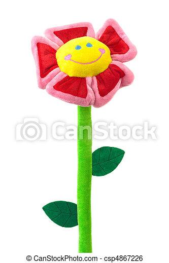 玩具, 花 - csp4867226
