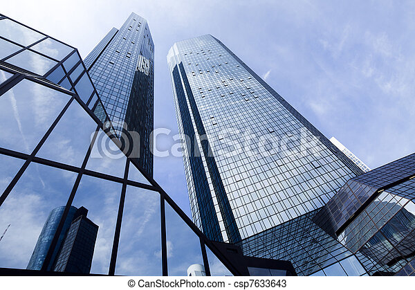 现代的商业, 建筑物 - csp7633643