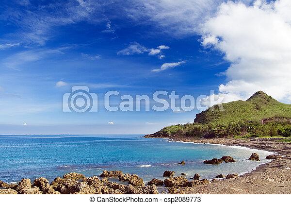 珊瑚礁, 海灣 - csp2089773