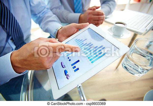 現代, ビジネス - csp9933369