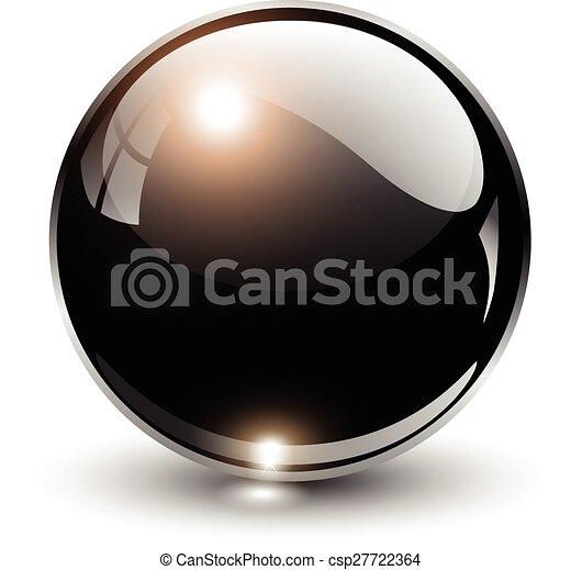 球, 3d, 水晶 - csp27722364