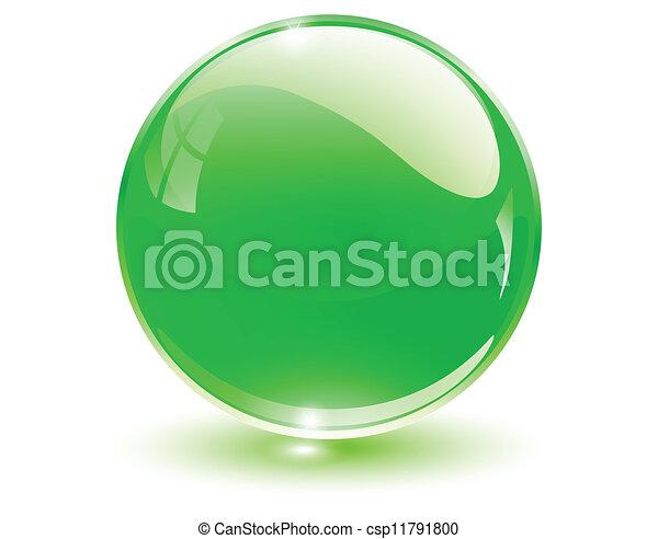 球, 3d, 水晶 - csp11791800