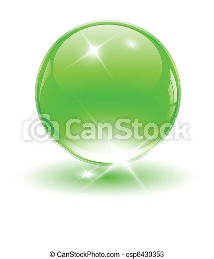 球, 3d, 水晶 - csp6430353