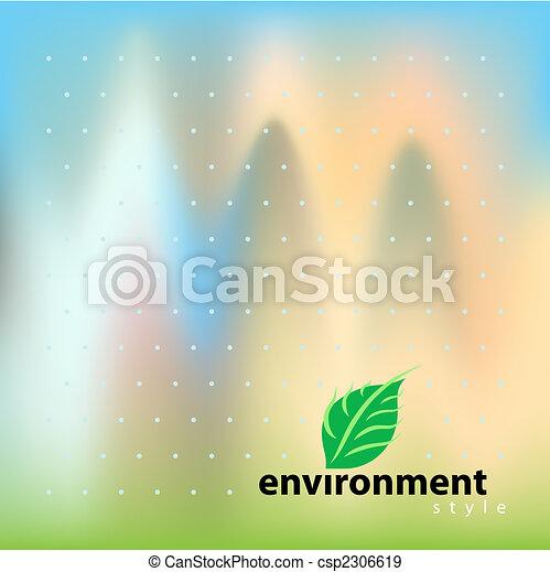環境, bio, スタイル, ベクトル - csp2306619