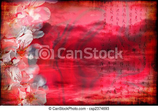瓷器, 浪漫 - csp2374693
