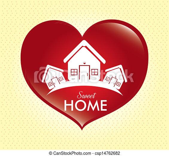 甘い, 家 - csp14762682