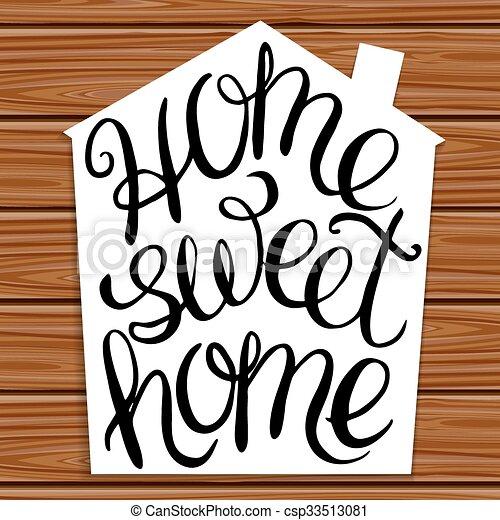 甘い, 家 - csp33513081
