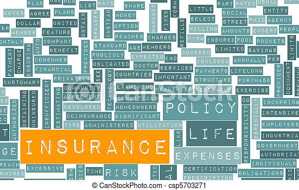 生命保険 - csp5703271