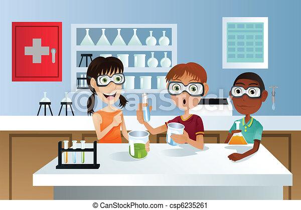 生徒, 科学プロジェクト - csp6235261