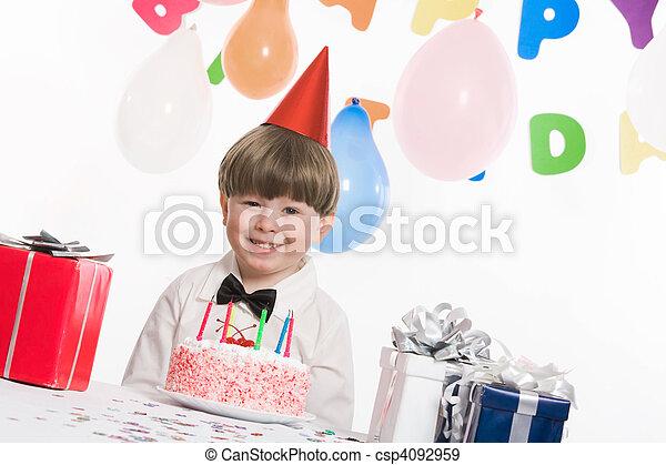 生日慶祝 - csp4092959