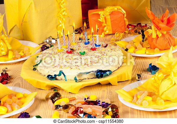 生日慶祝 - csp11554380