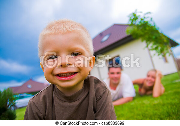 生活, 子供, 幸せ - csp8303699