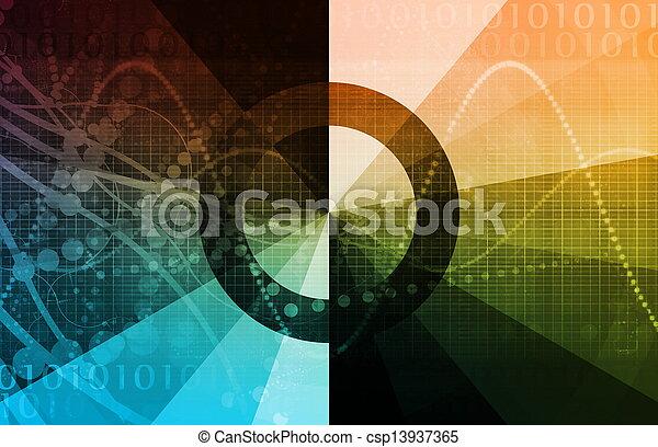 生活, 技術, 週期 - csp13937365
