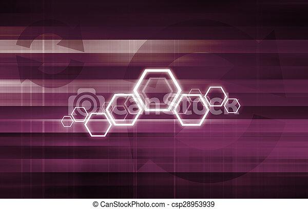 生活, 技術, 週期 - csp28953939