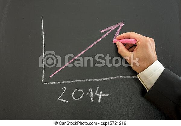 生長, 圖表, 事務 - csp15721216