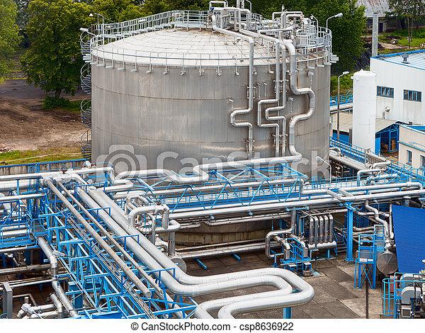 産業, オイル, ガス - csp8636922