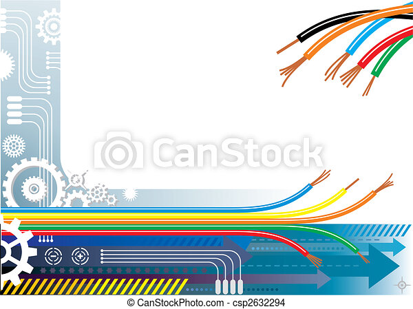 産業, 背景, オートメーション - csp2632294